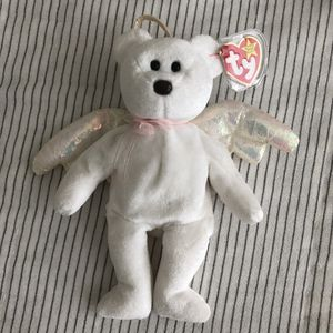 TY Exclusive 1998 Halo The Angel Bear Beanie Baby for Sale in Graham, WA