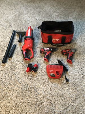 Milwaukee M12 Power Tool 3-piece Set for Sale in Lemon Grove, CA