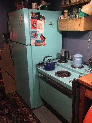 Fridge & deco stove $249 set for Sale in Los Angeles, CA