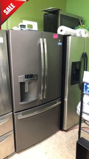 🌟🌟36in wide Refrigerator Fridge GE French Door 3-Door #825🌟🌟 for Sale in Orlando, FL