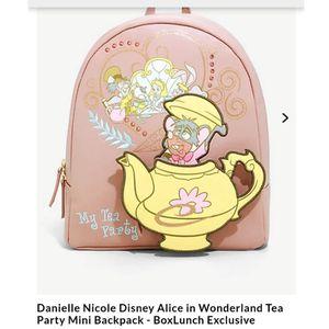 Danielle Nicole Disney Alice in Wonderland Tea Party Mini Backpack for Sale in Los Angeles, CA