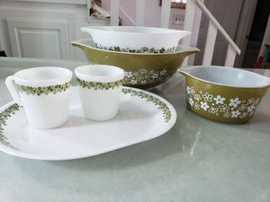 Pyrex Spring Blossom 6 pieces for Sale in Palm Harbor, FL
