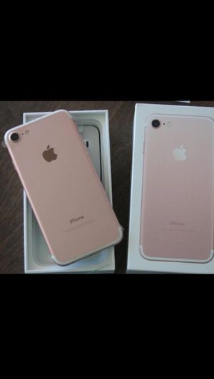 iPhone 7 Rose Gold Brand New Unlocked for Sale in Sugar Land, TX