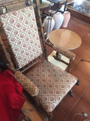Rocking chair old yet in great shape for Sale in Portland, OR