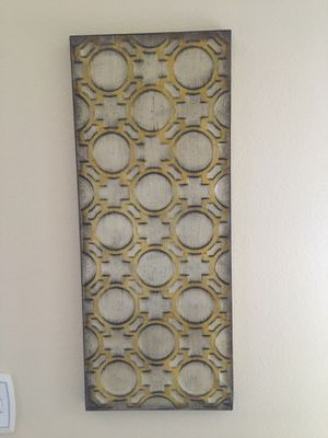 Embossed Metal Wall Decor for Sale in Simi Valley, CA
