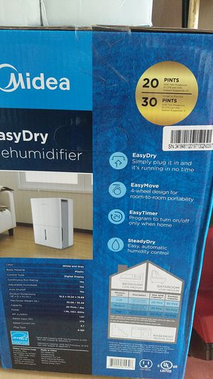 Easy Dry Dehumidifier New never opened for Sale in Perth Amboy, NJ