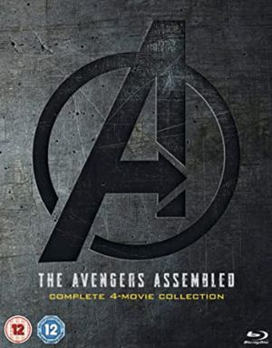 Avengers 1-4 Complete Boxset [Blu-ray] [2019] [Region Free] for Sale in Los Angeles, CA