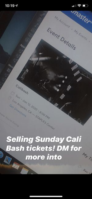 Cali Bash tickets for Sale in Salinas, CA
