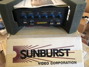 Vintage Sunburst Video Processor for Sale in Mesa, AZ