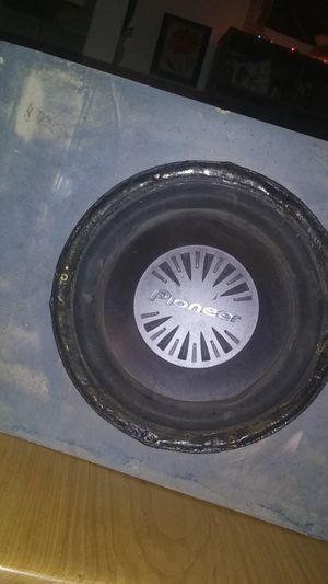 HOMEMADE PIONEER SUBWOOFER for Sale in Quincy, IL