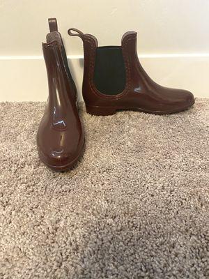 Red rain boot booties for Sale in Riverton, UT