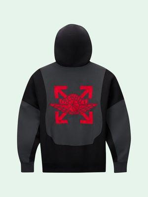 Off white x Jordan hoodie size XXL new for Sale in Clinton Township, MI
