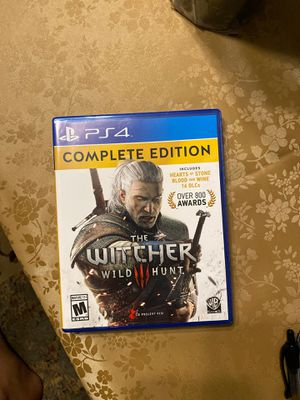 The Witcher wild hunt for Sale in Tampa, FL