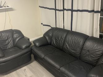 Leather sofa with lover seat for Sale in La Puente,  CA