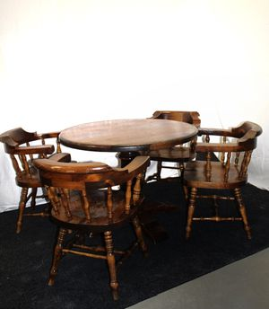 Classic Wooden Table and Chairs for Sale in Miami, FL