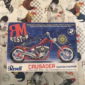 Revell Crusader Custom Chopper Motorcycle for Sale in Fairfax, VA