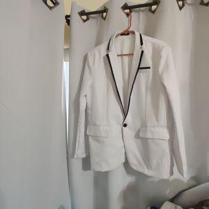 XL Blazer Men Slim Fit Casual One Button slim fit Jackets Blazer Jacket Coat For Causal/ Wedding for Sale in Fort Lauderdale, FL