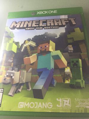 Minecraft Xbox one edition for Sale in Santa Ana, CA