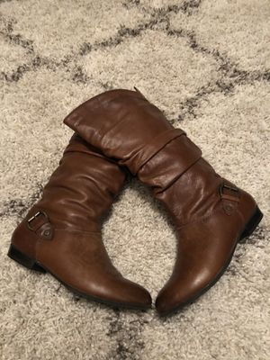 Aldo Leather Boots for Sale in Grand Prairie, TX