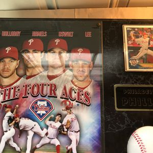 The Four Aces Phillies Plaque for Sale in Ridley Park, PA