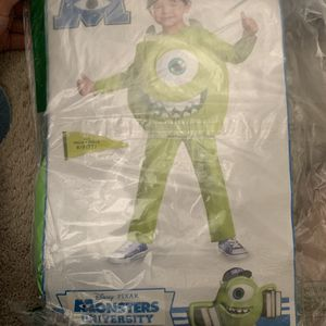 Toddler costume never opened- Disney Monsters Inc for Sale in Washington, DC