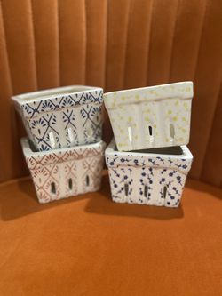 Anthropology Porcelain Berry Baskets/Containers for Sale in Sacramento,  CA
