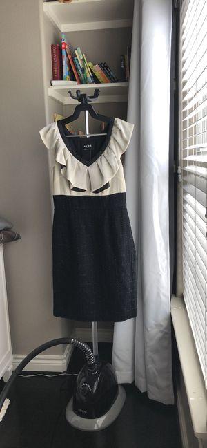 BCBG cream and black sheath dress for Sale in Houston, TX