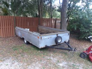 Old camper frame/trailer for Sale in Tampa, FL
