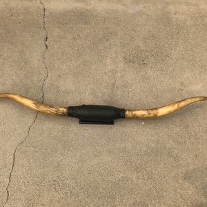 "6'7"" mounted bull horns, steer, cattle, cow taxidermy for Sale in Temple City, CA"