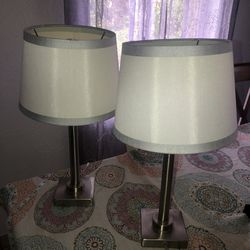 Two Matches Lamps In Excellent Condition for Sale in Hollywood,  FL