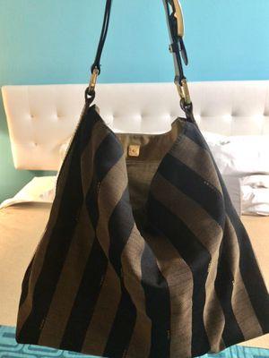 FENDI Authentic canvas shoulder bag for Sale in Coronado, CA