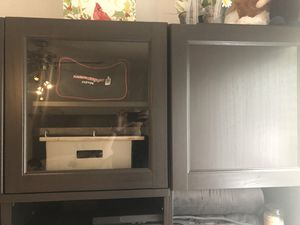 "IKEA entertainment center dresser with shelving storage with 42"" TV for Sale in Arlington, TX"