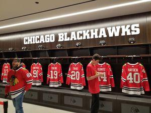 Blackhawks Tickets tonight center ice 10/14 for Sale in Aurora, IL