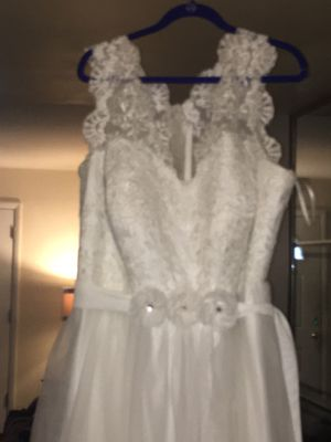 Plus size wedding dress for Sale in Willingboro, NJ