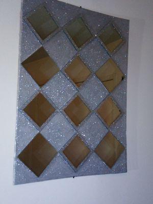 Silver Glitz & Glam small mirrors picture for Sale in Memphis, TN