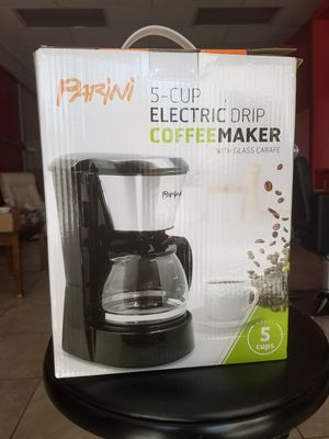 Brand new parini coffee maker for Sale in Riverside, CA