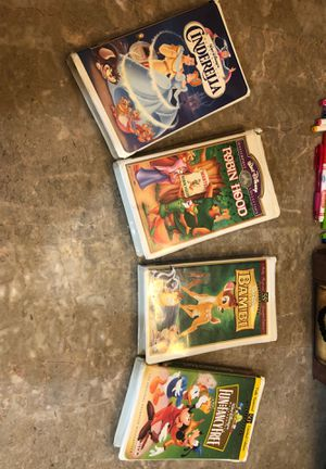 Disney masterpiece collection VHS for Sale in Chicago, IL