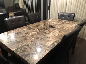 Dining Room Table and 6 Chairs for Sale in Boca Raton, FL