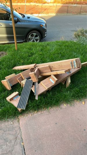 Scrap wood and hangers for free for Sale in Denver, CO