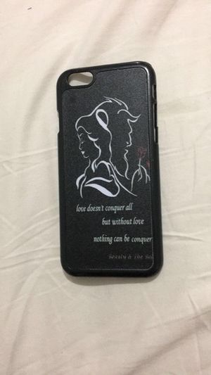 iphone 6/6s beauty and the beast cover for Sale in Hialeah, FL