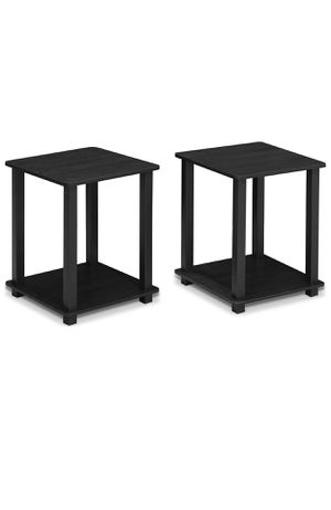 Americano/Black End Tables - Bought less than 6 months ago/Like NEW for Sale in San Francisco, CA