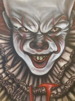 Pennywise painting for Sale in Houston, TX
