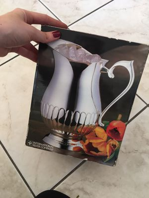 Silver Pitcher for Sale in Los Angeles, CA