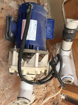 3/4 hp hot tub / jetted tub pump for Sale in Gibsonia, PA