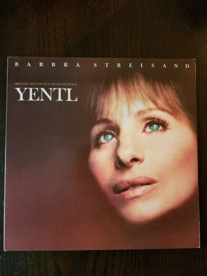 YENTL Motion Picture Soundtrack Vinyl LP Album Barbra Streisand for Sale in Westmont, IL