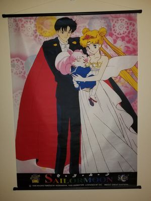 Classic Sailor Moon wall scroll for Sale in Houston, TX