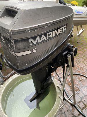 6 HPMercury/ mariner short shaft 2stroke outboard motor for Sale in Redmond, WA