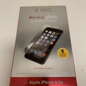 Zagg Protective Glass For iPhone 6/6S for Sale in Brooklyn, NY