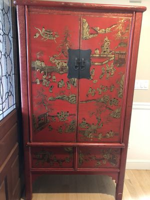 Antique Chinese Armoire Chest for Sale in Kirkland, WA