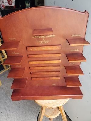 Thomas Kinkade Wood Shelf for Sale in Broken Arrow, OK